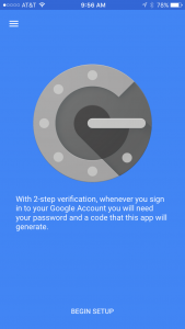 google authenticator ihpone qr code
