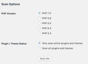 PHP 7 Compatibility Plugin Report